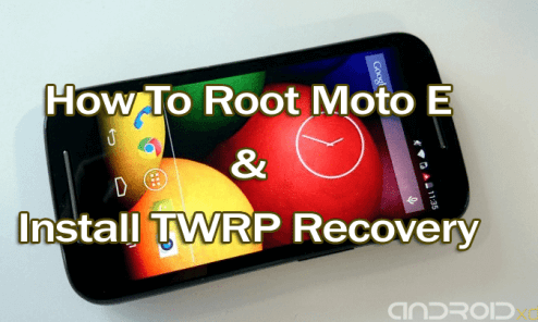 Root Moto E and Install TWRP Recovery [How To] 4