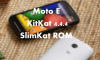 How To Update Moto E to KitKat 4.4.4 with SlimKat ROM 7