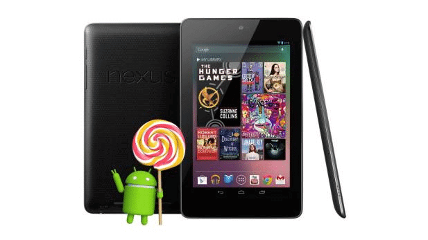 Nexus 7 2012 Android 5.0.2 Lollipop