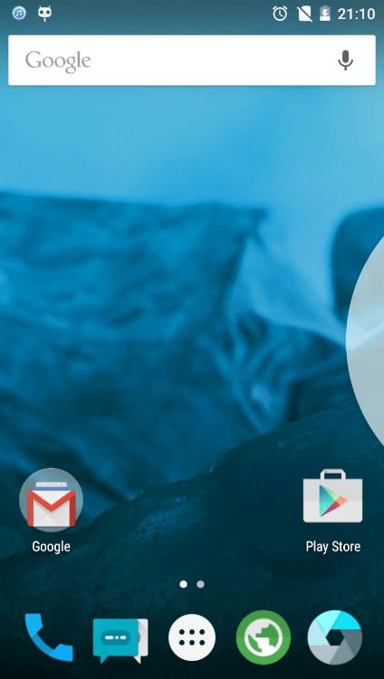 CyanogenMod 12.1 ROM for Galaxy Note 2
