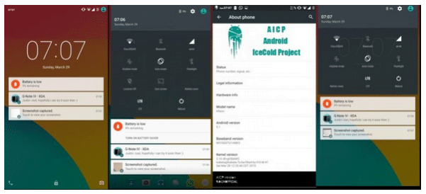 Install AICP ROM Android Lollipop 5.1 on Galaxy Note 4