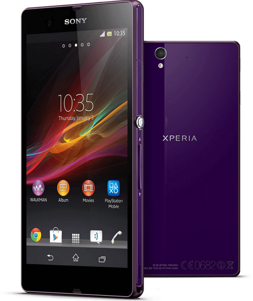 update Sony Xperia Z with official Android 5.0.2 10.6.A.0.454 Lollipop