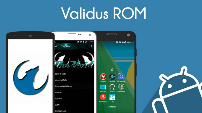 Validus Lollipop ROM