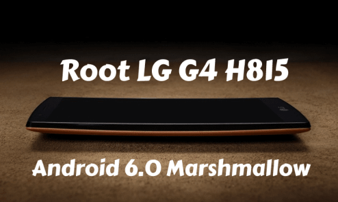 Root LG G4 H815 on Android 6.0 Marshmallow 20A Firmware Update - How To 4