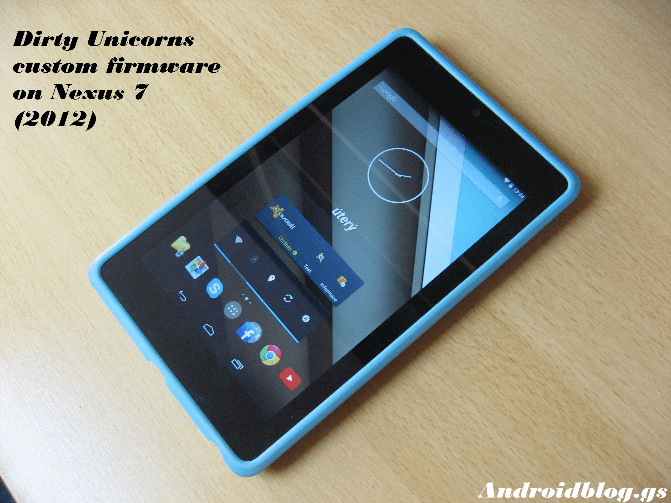 Install Dirty Unicorn Android 7.1.1 Nougat Custom ROM On Nexus 7 (2012) 1