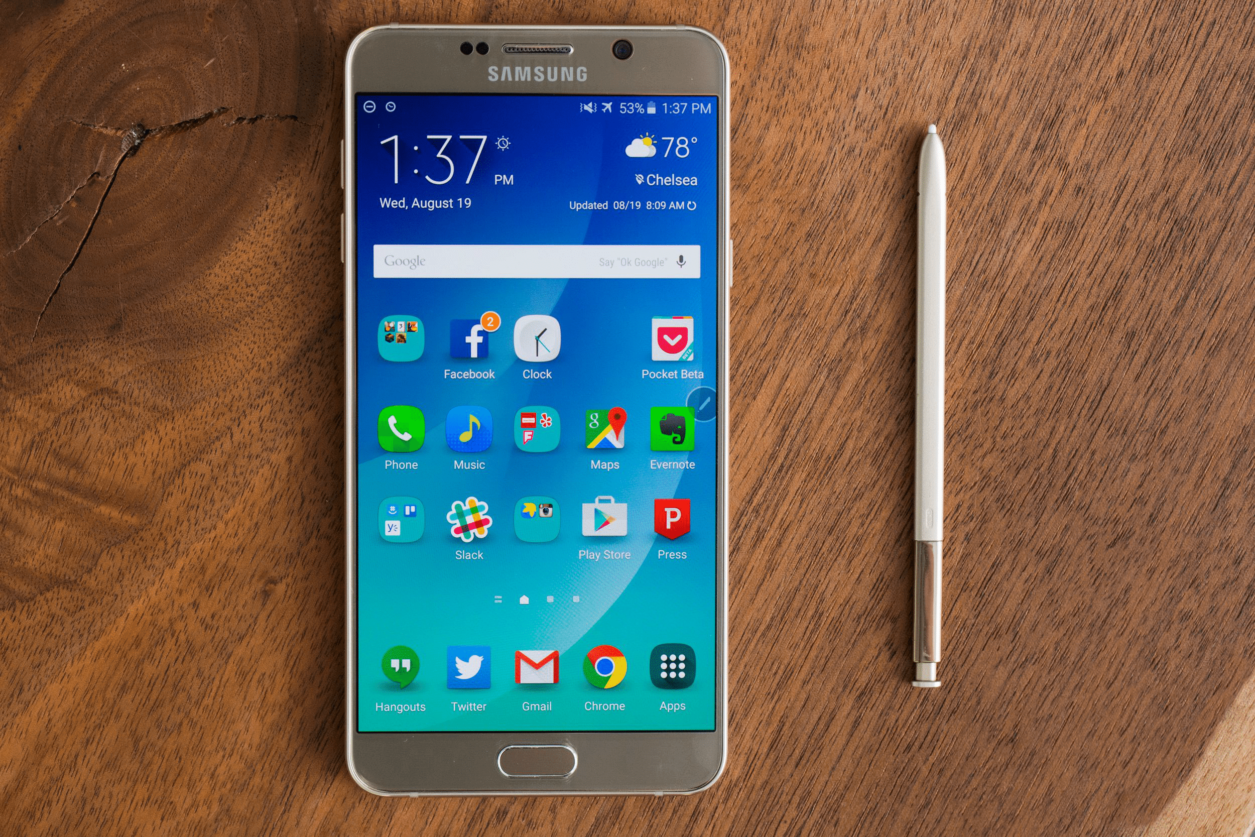 Update Samsung Galaxy Note 5 To Android 7.0 Nougat via Nemesis Custom ROM 1