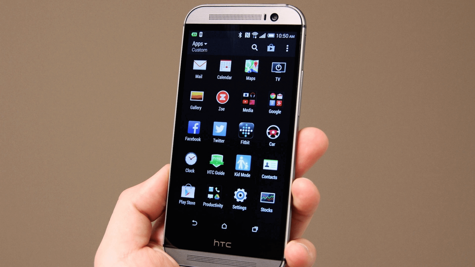 Update HTC One M8 To AICP Android 7.1.2 Nougat Custom ROM 1