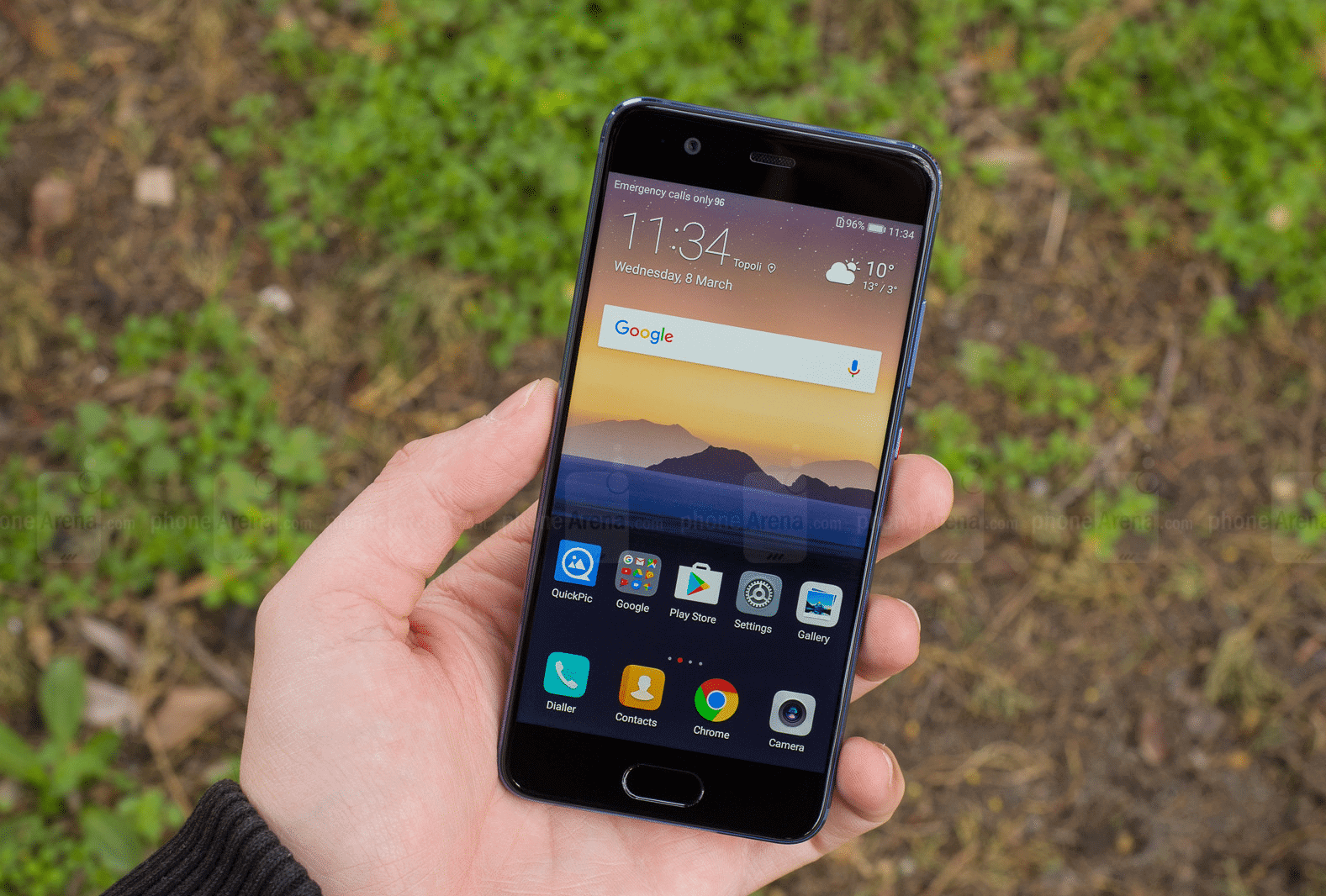 Install B130 Android 7.0 Nougat Official Update On Huawei P10 VTR-L29 1