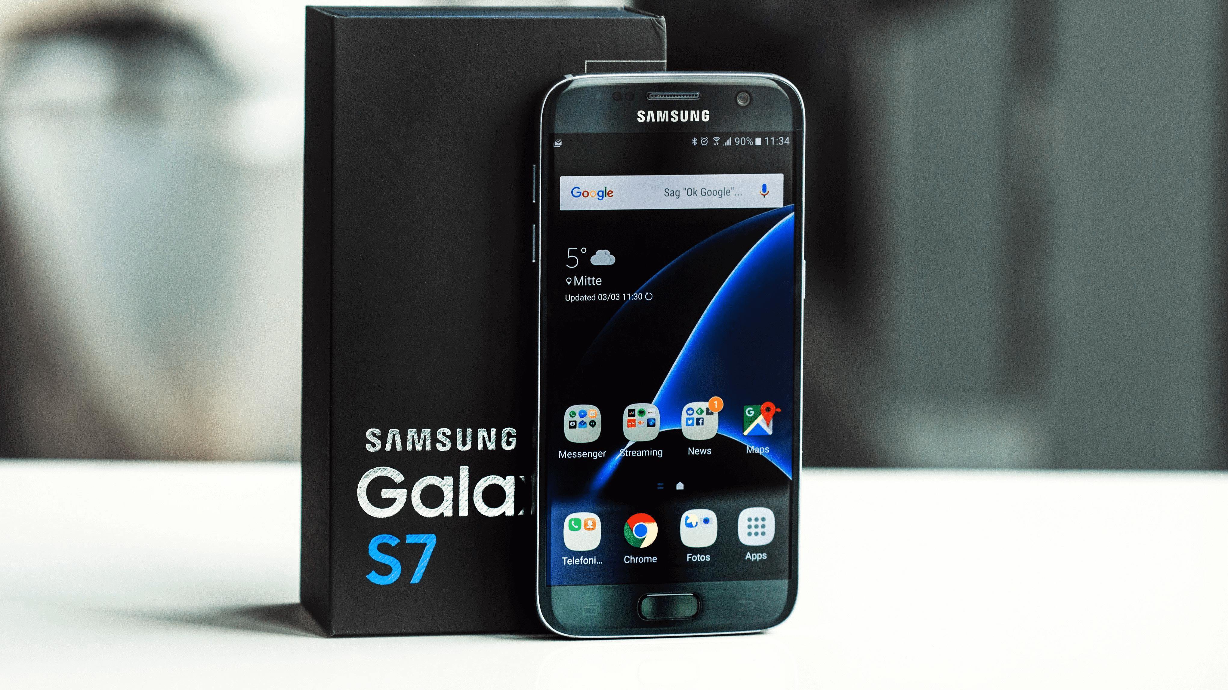 Install Android 7.1.2 Nougat On Galaxy S7 SM-G935F Via crDroid Custom ROM 1