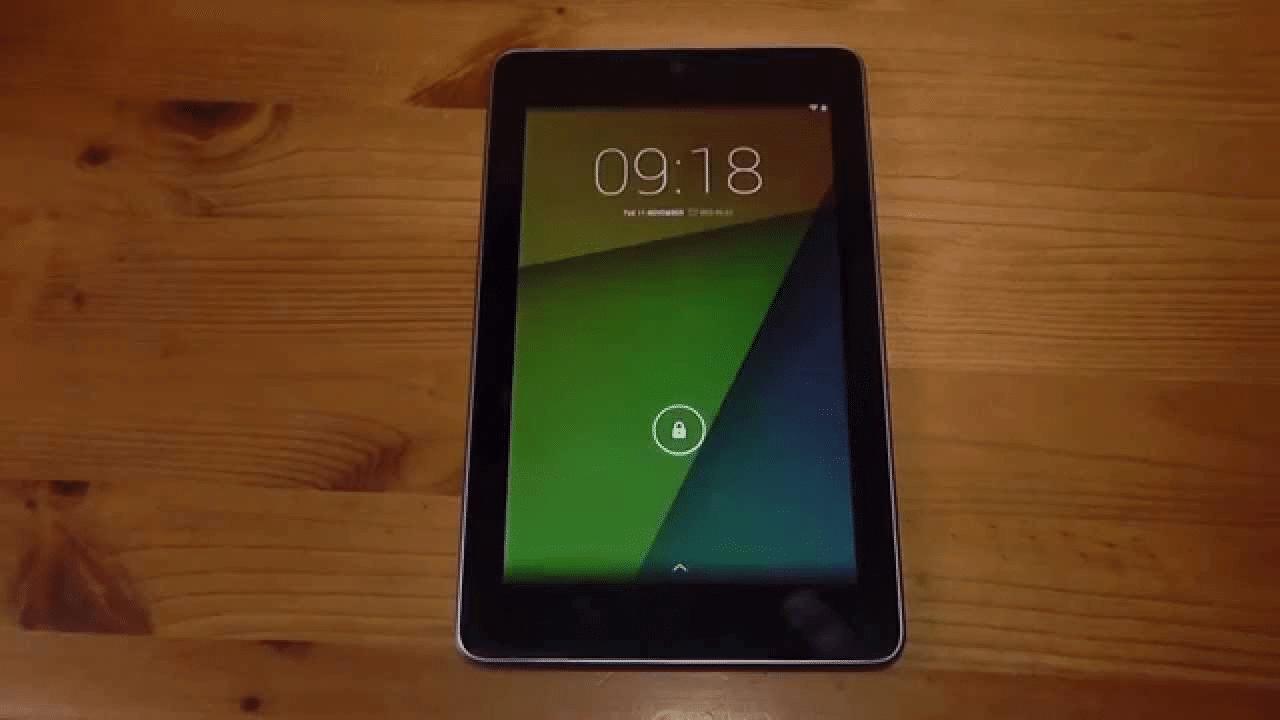 Install Carbon ROM Android 7.1.2 Nougat Custom ROM On Nexus 7 2012 1