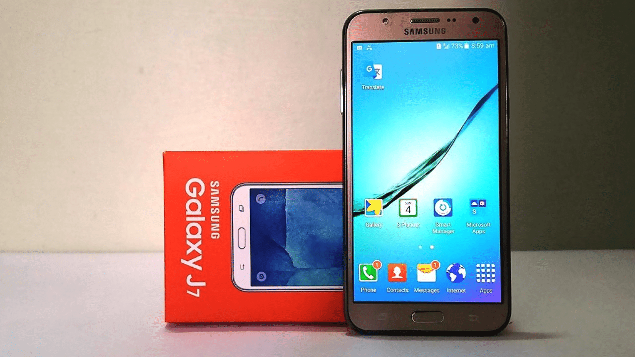 Install Resurrection Remix Android 7.1.2 Nougat Custom ROM On Galaxy J7 1