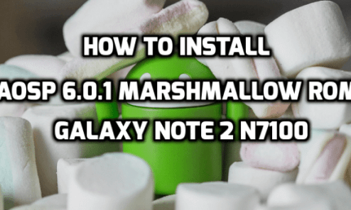 AOSP 6.0.1 Marshmallow ROM For Galaxy Note