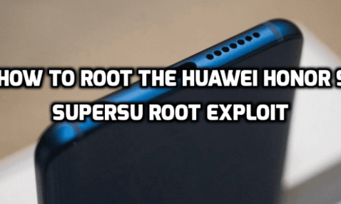 Huawei Honor 9 - How to root with SuperSU