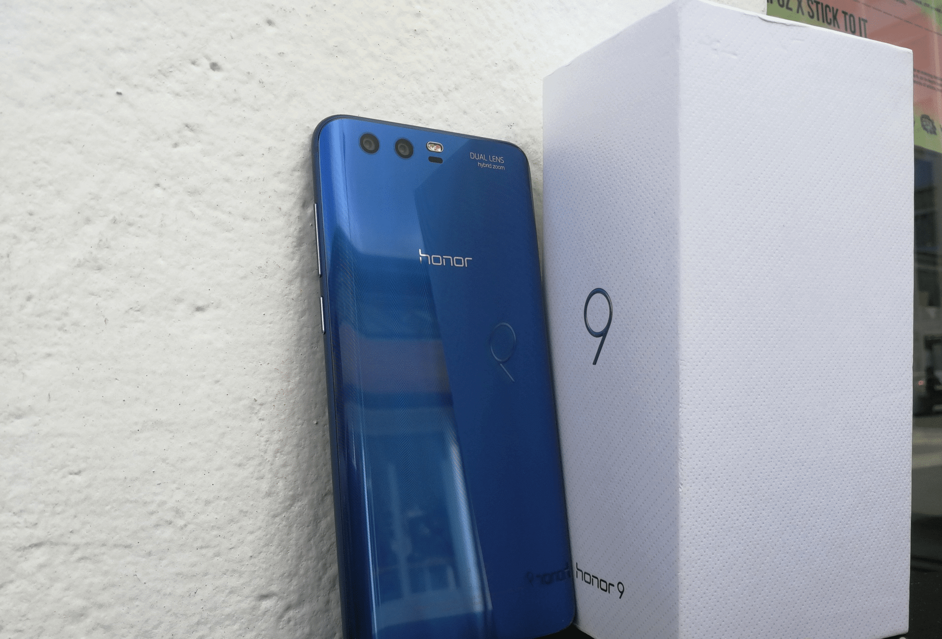 Huwei Honor 9 updated Android 7.0 Nougat official update