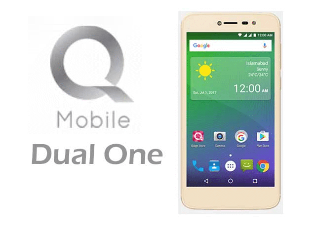QMobile Dual One updated on Android 7.0 Nougat official firmware 11