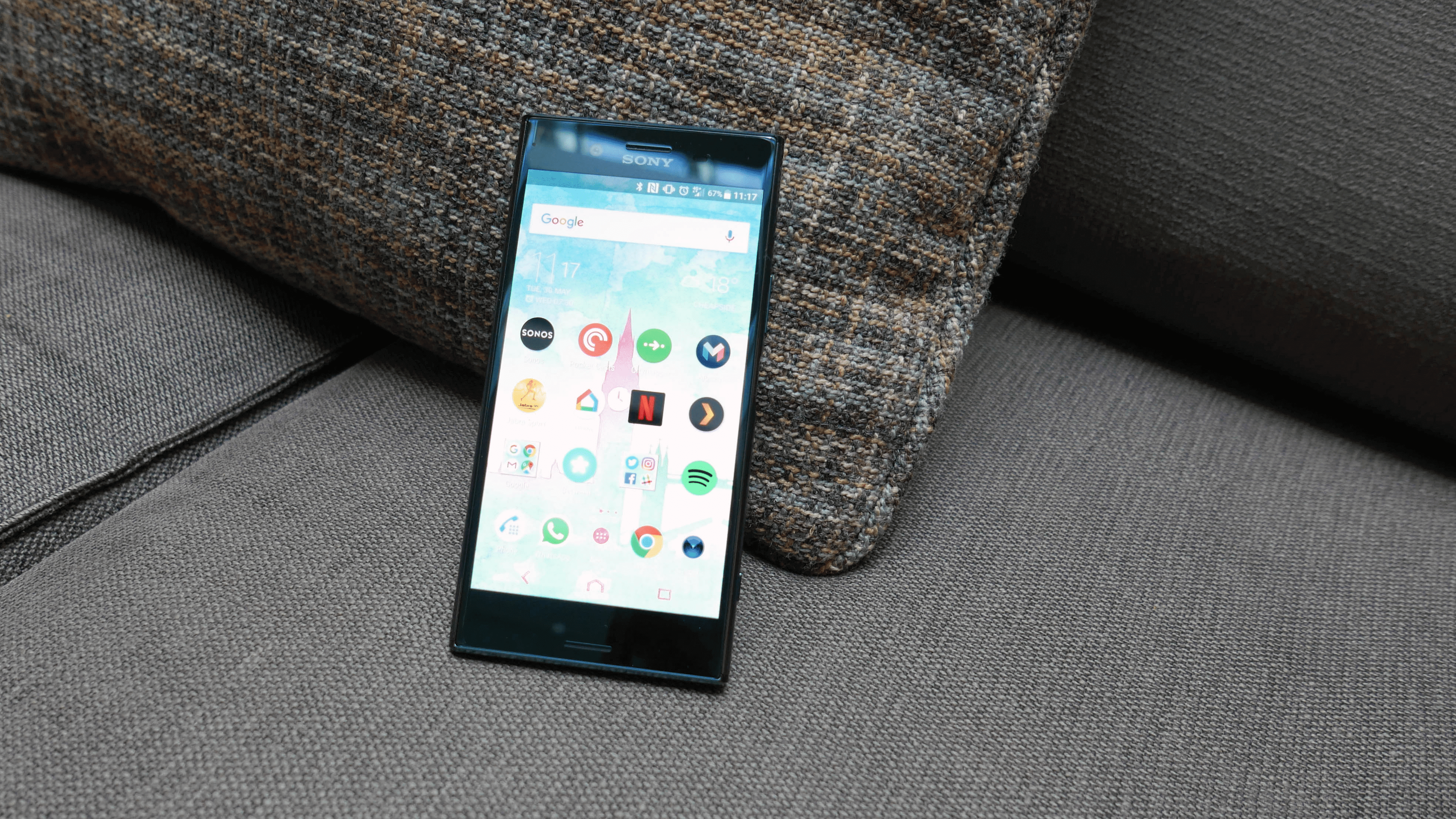Xperia XZ Premium updated on Android 8.0 Oreo official udpate 11