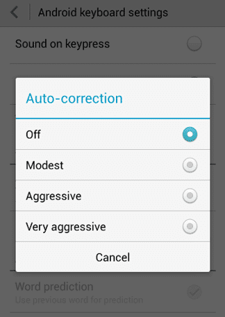 Tips for Using Auto-Correct Feature on Android Device 1