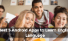 Best 5 Android Apps to Learn English Language  3