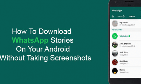 Download WhatsApp Stories on Android Devices