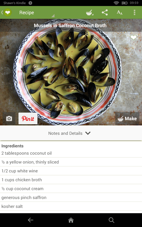 Best 5 Android Apps for Cooking Recipes 4