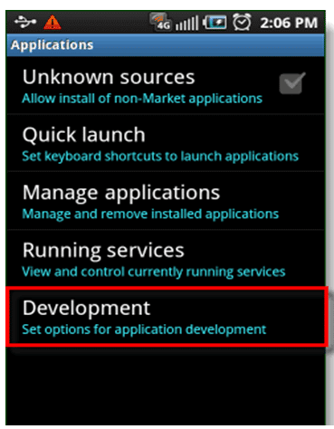 How to Enable USB Debugging