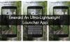 Emerald An Ultra-Lightweight Launcher App 7