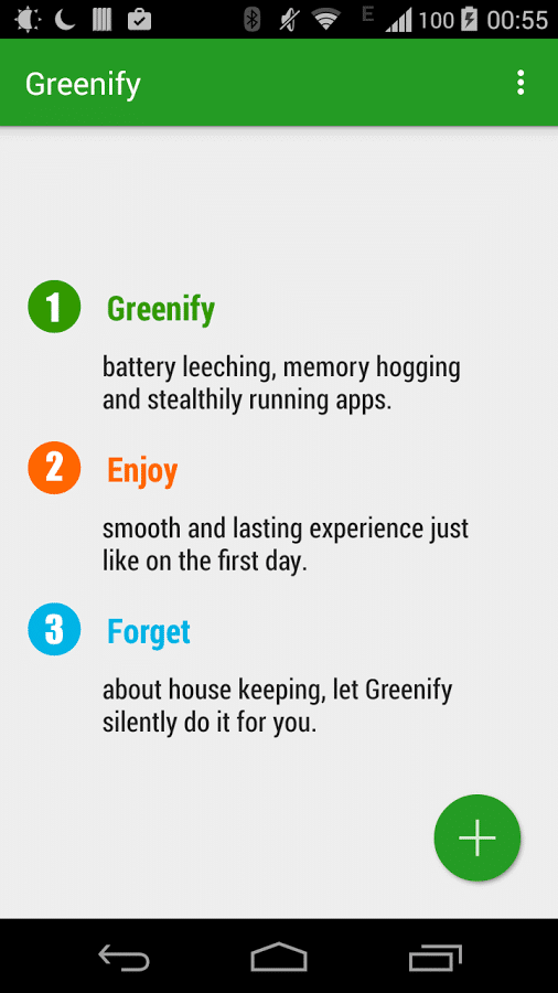 Optimizing Android Phone's Battery Life with Greenify 1