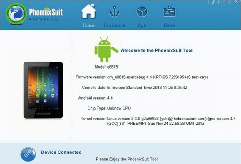 PhoenixSuit Latest Version Free Download