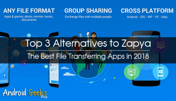 The Best File Transferring Apps in 2018