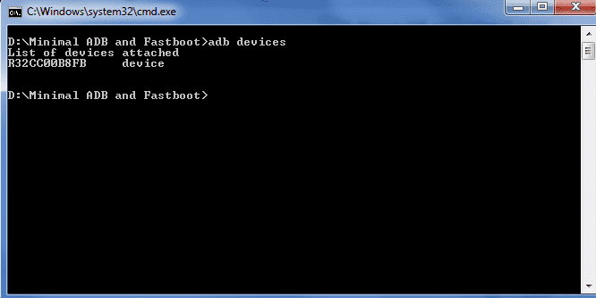 Download Minimal ADB and Fastboot Tool 1