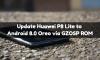 Update Huawei P8 Lite to Android 8.0 Oreo via GZOSP ROM 3