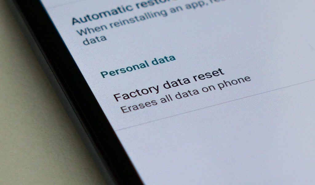 How to Factory Reset an Android Phone 1