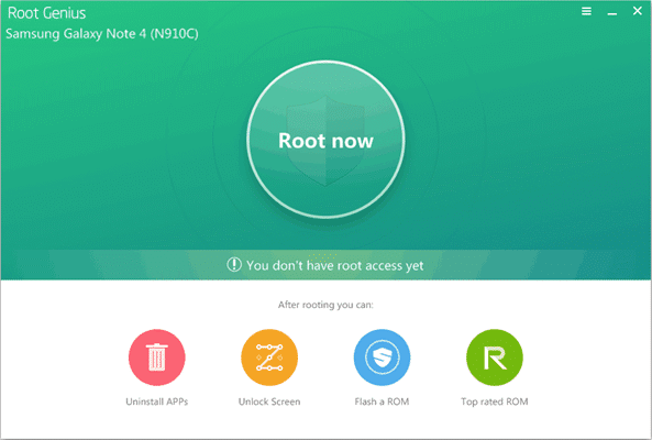 Download Root Genius Application (One-Click Root) 1