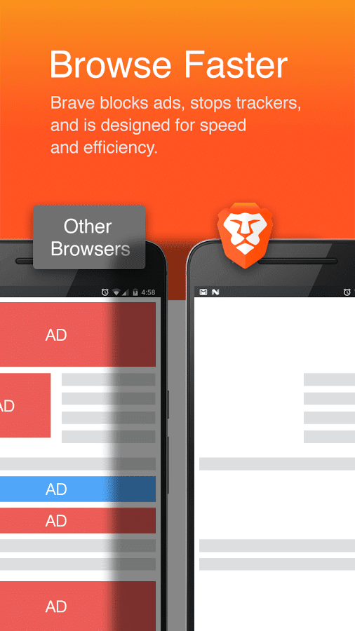 Brave Browser - Fast AdBlocker