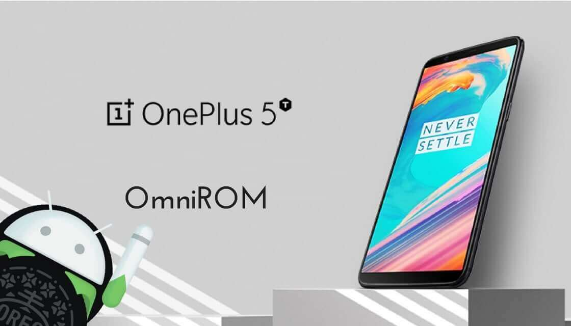 OmniROM on OnePlus 5T