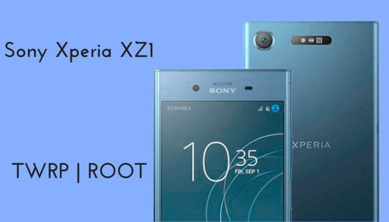Root Sony Xperia XZ1