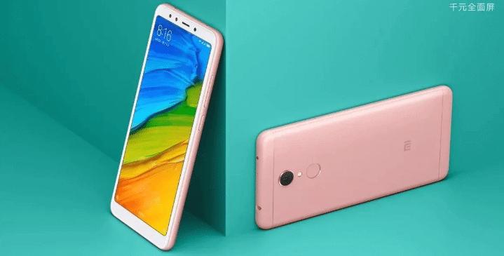 Redmi 5 Announcement : Budget Bezel Less Device at 120$ 2