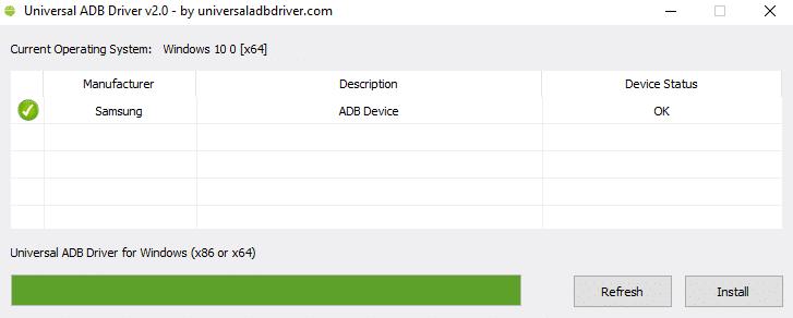 Download Universal ADB Driver Tool 2