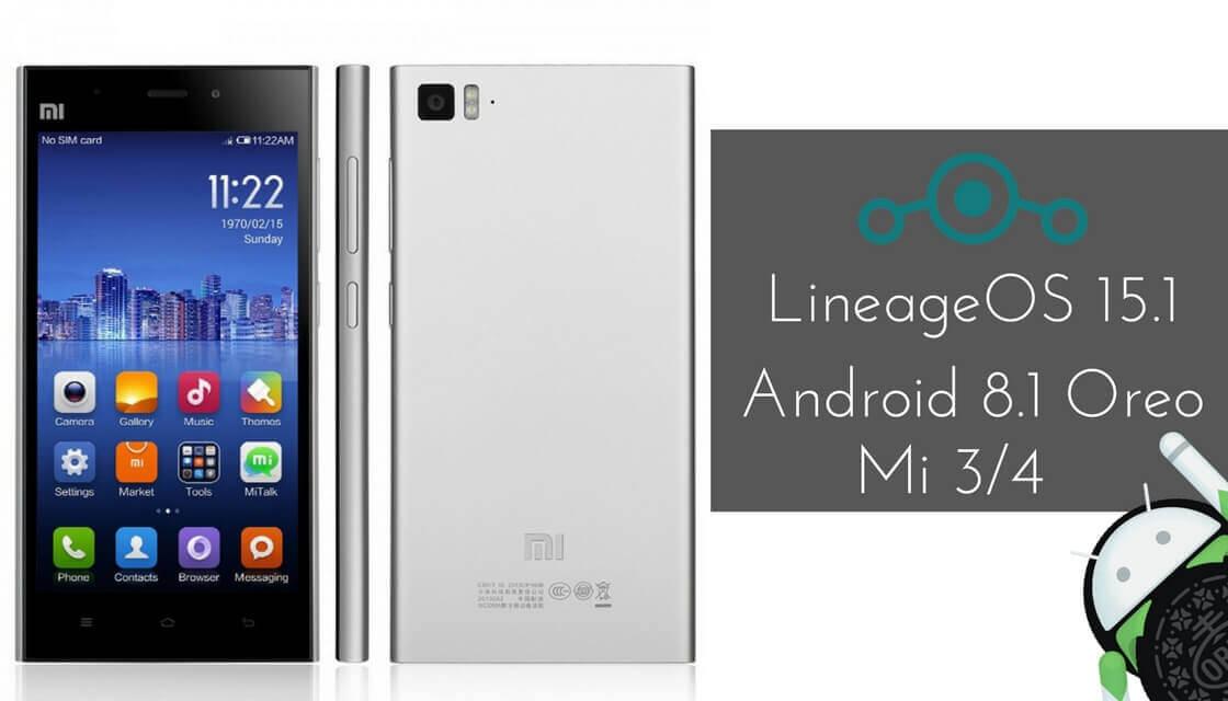 LineageOS 15.1 on Xiaomi Mi 3