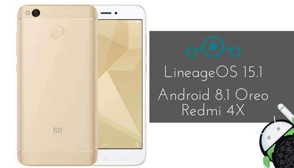 LineageOS 15.1 on Xiaomi Redmi 4X