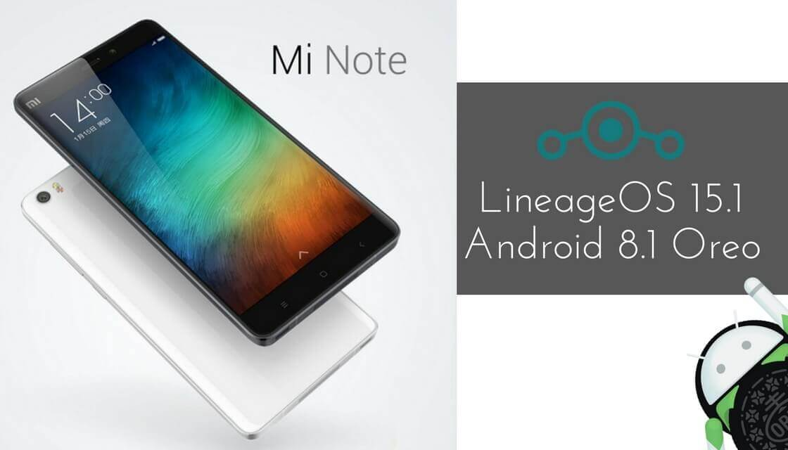 LineageOS 15.1 on Xiaomi Mi Note