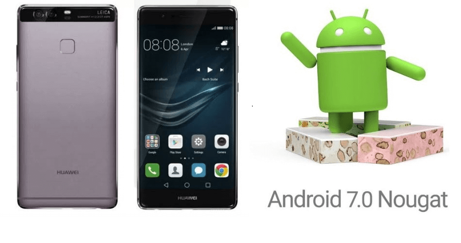 Huawei P9 updated on Android 7.0 Nougat official udpate 11