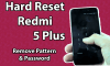 How to Factory/Hard Reset Xiaomi Redmi 5 Plus 1