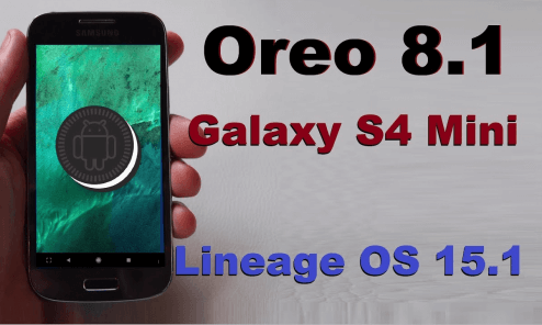 How To Install Lineage OS 15.1 On Galaxy S4 Custom ROM [Android 8.1 Oreo] 3