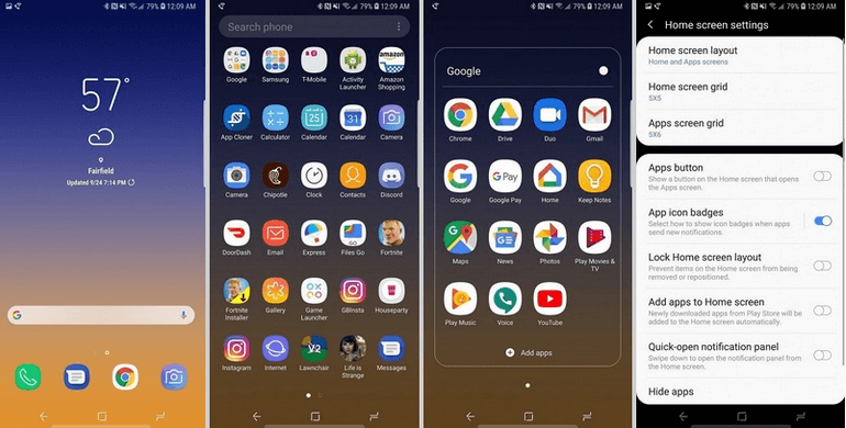 Download Samsung Experience 10 Launcher