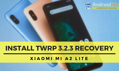 Install TWRP 3.2.3 Recovery on Xiaomi Mi A2 Lite