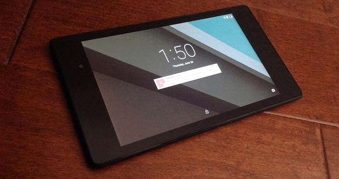 CyanogenMod 13 Nexus 7 2013 LTE
