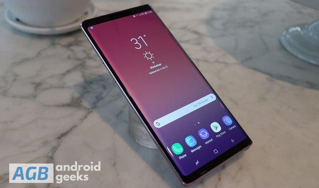 Download December 2018 Security Patch for Galaxy Note 9