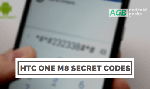 HTC One M8 Secret Codes