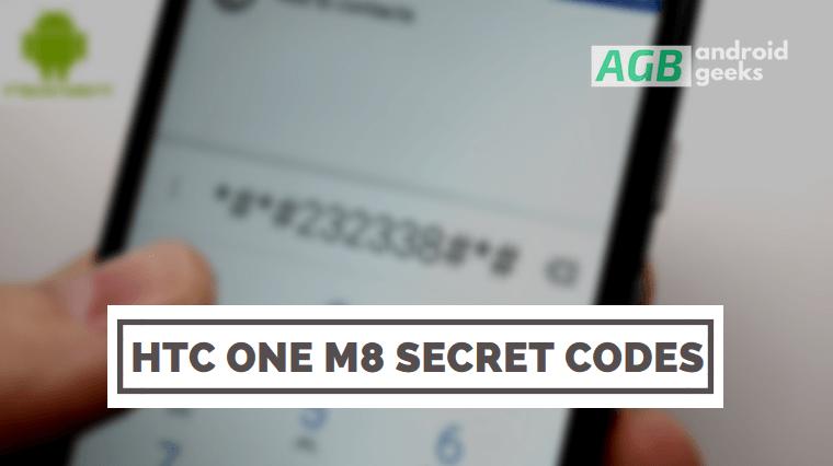 HTC One M8 Secret Codes